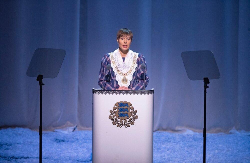 EV101, presidendi kõne, kontsertetendus Estonias