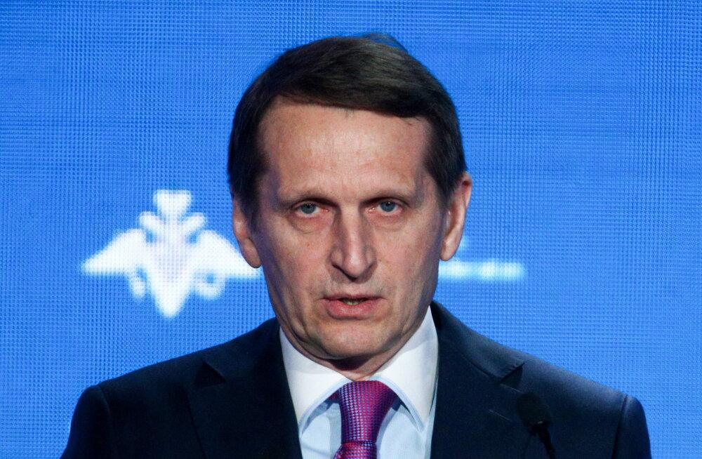 Välisluurejuht Narõškin: Venemaa vastab spioonidele armuandmisele Leedus peegelpildis