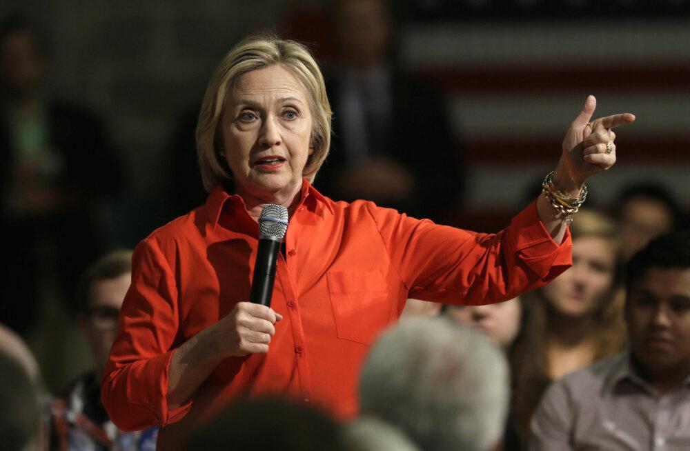 Clinton: Donald Trump ei kõlba presidendiks