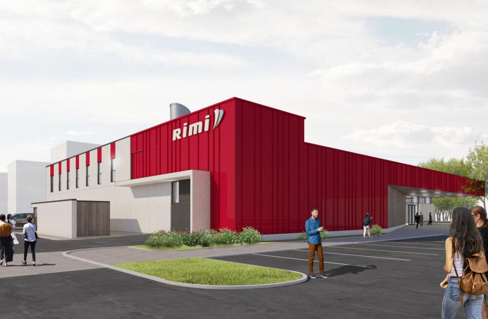 ФОТО: На месте бывшего рынка Сольнок в Мустамяэ откроют супермаркет Rimi