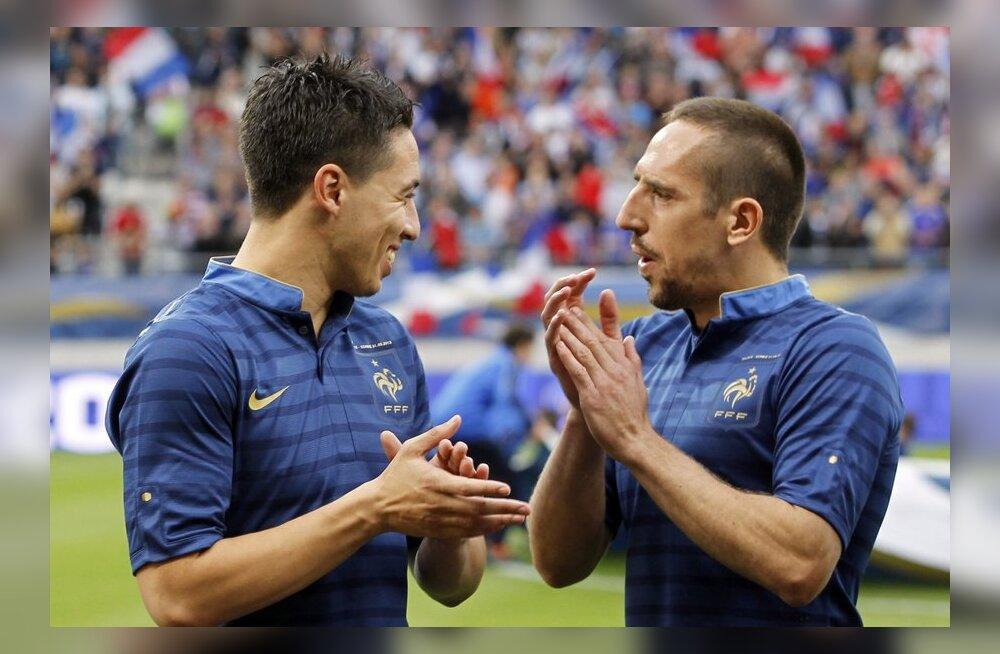 Prantsusmaa tähtmängija jäeti koondisest välja