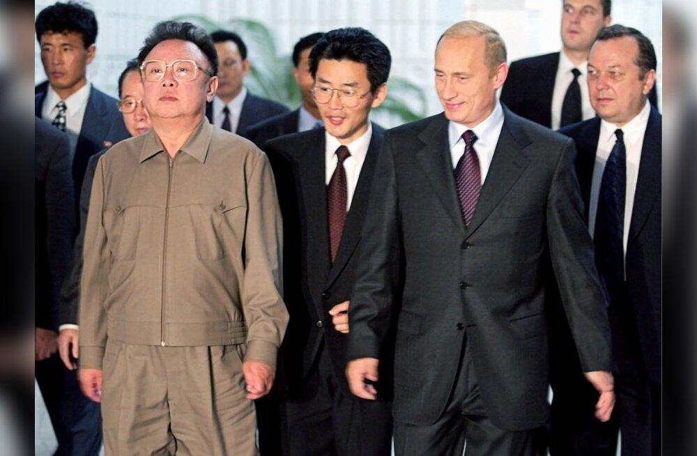 Kreml: Medvedev kohtub Põhja-Korea liidriga