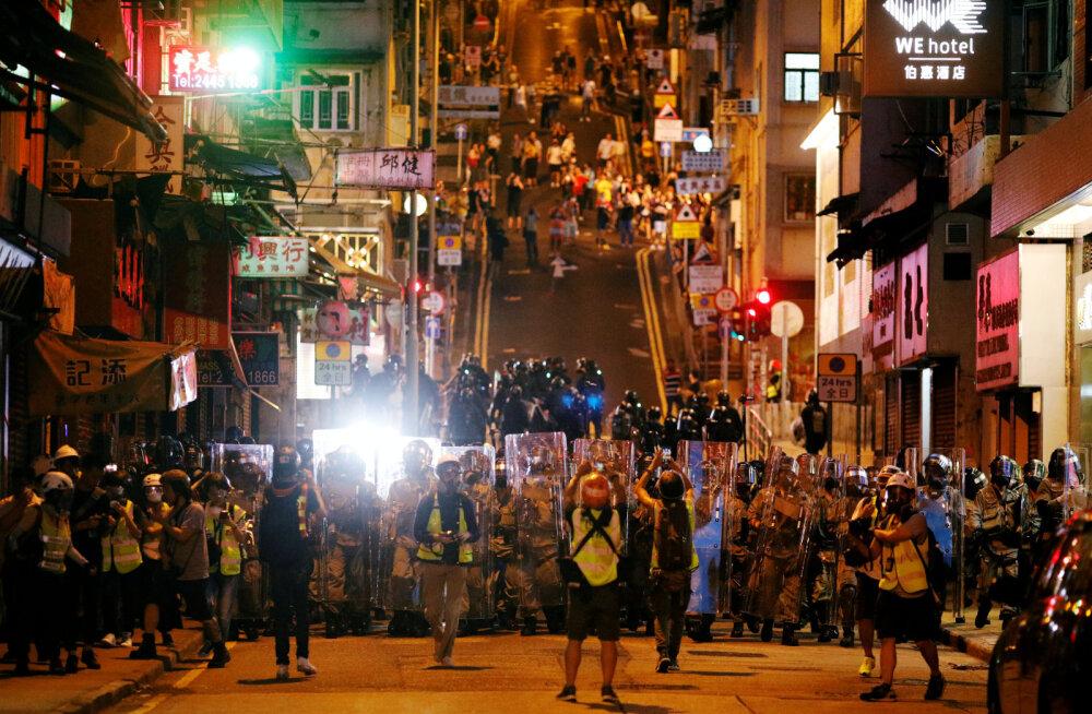 Hiina nimetas Hongkongi proteste kuritegelikeks ja õelateks