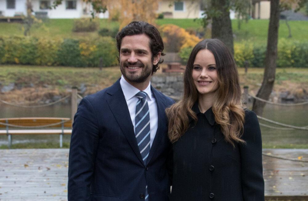 PÄEVA KLÕPS | Prints Carl Philip ja printsess Sofia jagasid maailmaga esimest fotot oma pisipojast