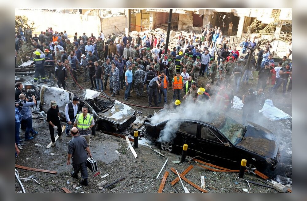 Iraani Beiruti saatkonna pommirünnakus hukkus 22 inimest