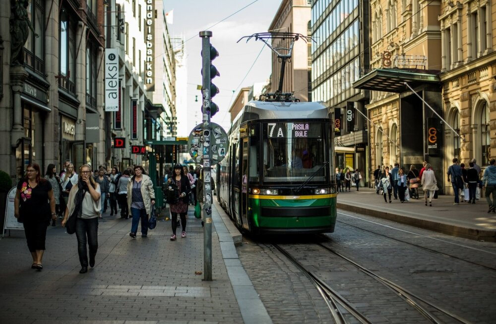 Общественный транспорт Хельсинки переходит на новые тарифные зоны