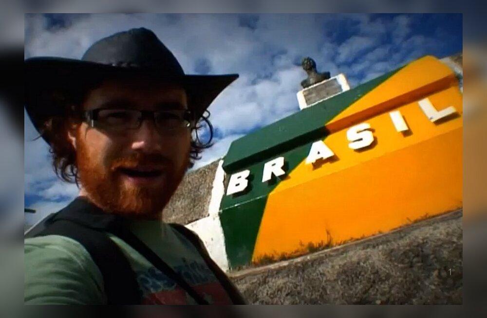 VIDEO: nelja minutiga ümber maailma, läbi 201 maa
