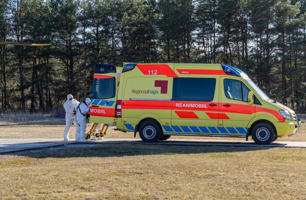 На Сааремаа в доме по уходу Сымера обнаружили 16 больных коронавирусом