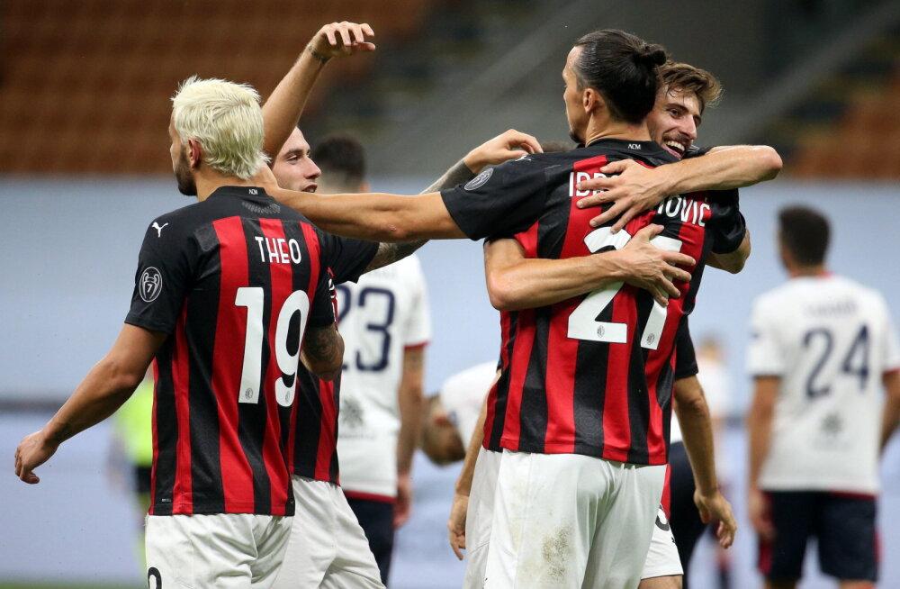 Cagliari kaotas AC Milanile, Klavanilt omavärav