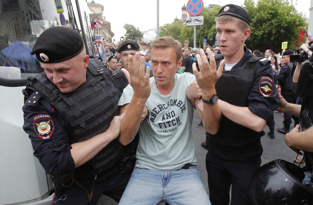 Протесты в Москве закончились массовыми задержаниями