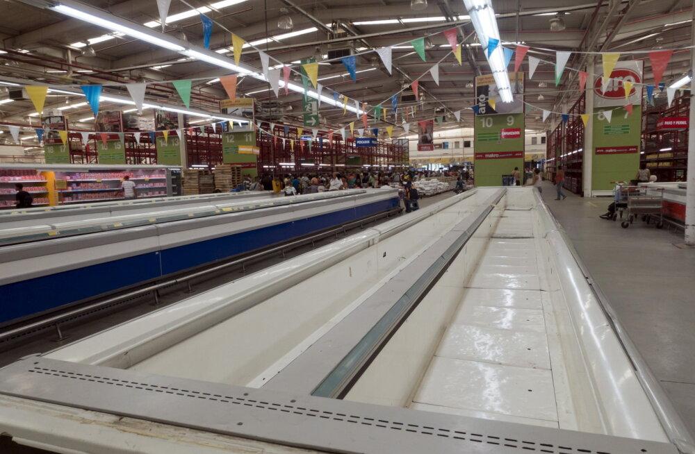 Venezuela poerüüstajate lemmiksaagiks on jahu, kanad ja aluspesu
