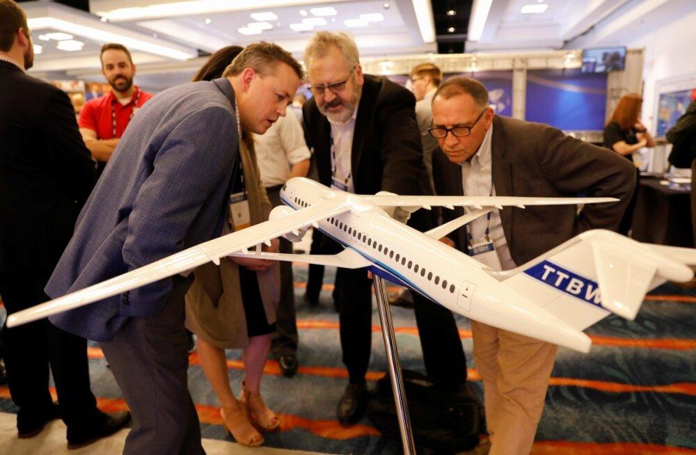 Boeingu uus radikaalne tiiva ehitus peaks tähendama kõrgemat ja kiiremat lendu