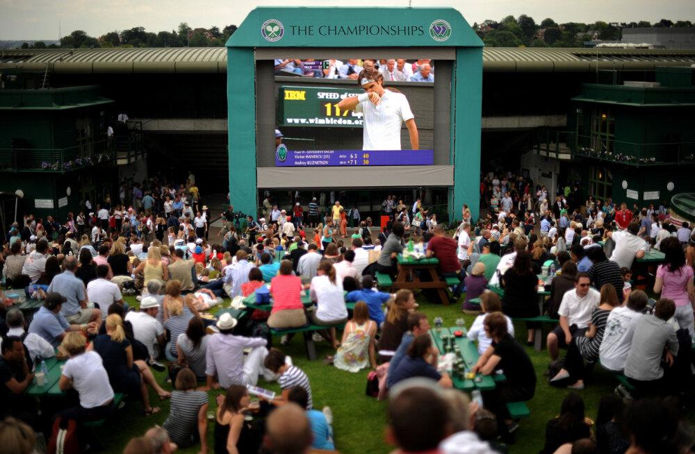 DELFI WIMBLEDONIS | Tennisepark on kuulutatud jalgpallivabaks tsooniks
