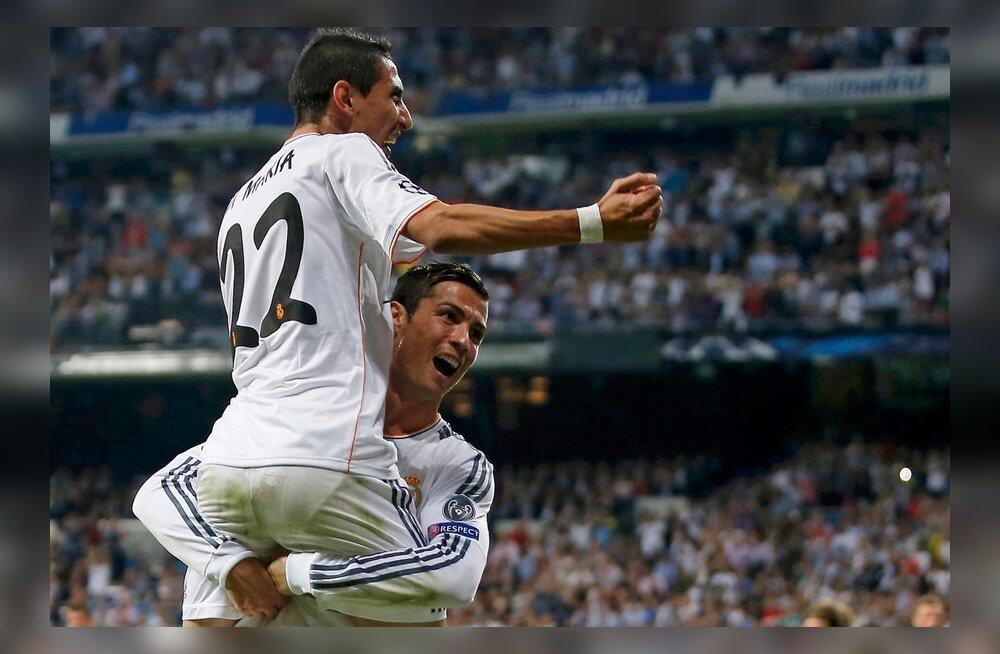 Angel di Maria, Cristiano Ronaldo