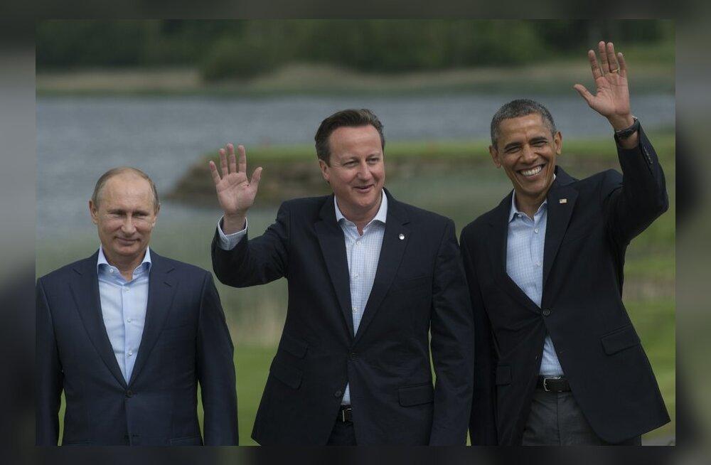 Встреча лидеров G8