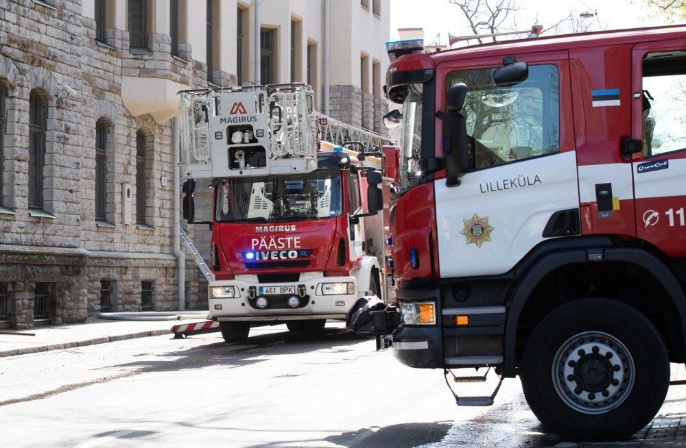 Какой ужас! Правила пожарной безопасности не соблюдены почти в 70% эстонских отелей