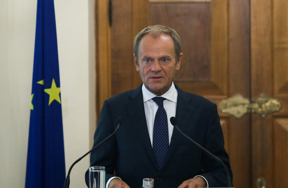 Tusk: EL ei lepi põgenike relvaks muutmise ja väljapressimiseks kasutamisega