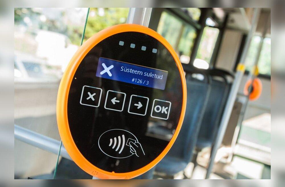 Paljud bussireisijad on täna validaatori ees pika ninaga jäänud