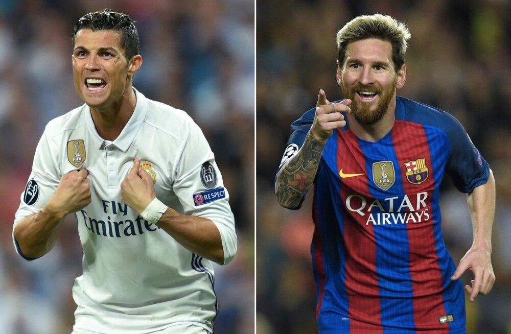 Cristiano Ronaldo on jõudnud Itaaliasse. Kas Lionel Messi järgneb talle?