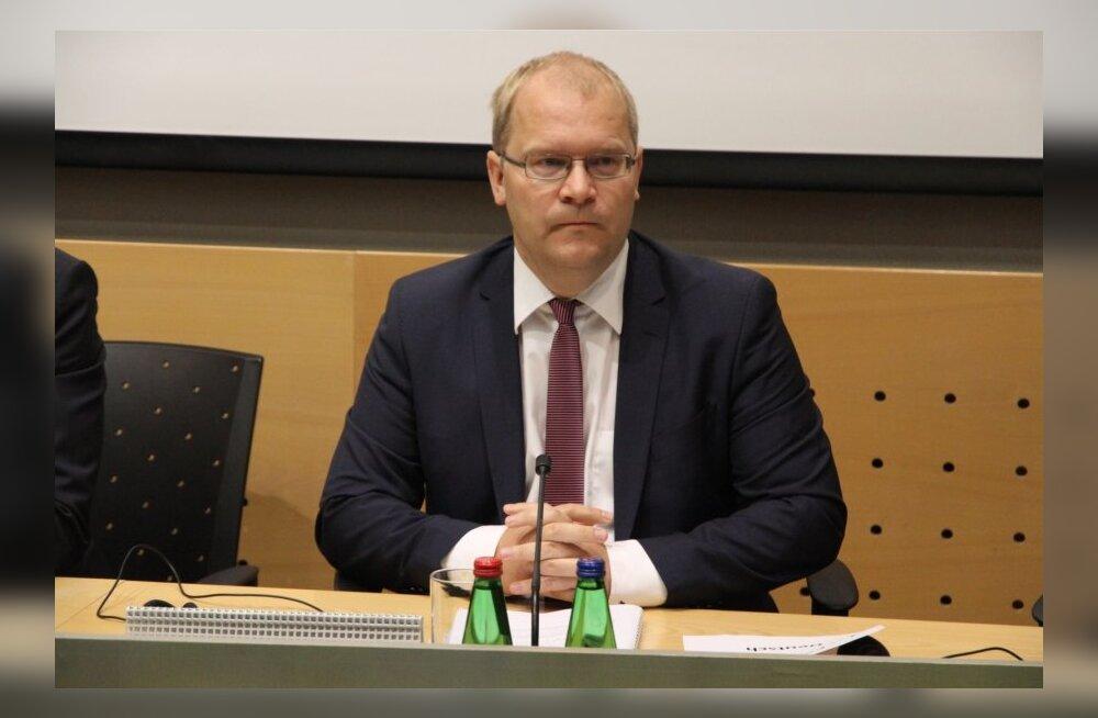 Паэт направил запрос Еврокомиссии в связи со строительством хранилища радиоактивных отходов рядом с Эстонией