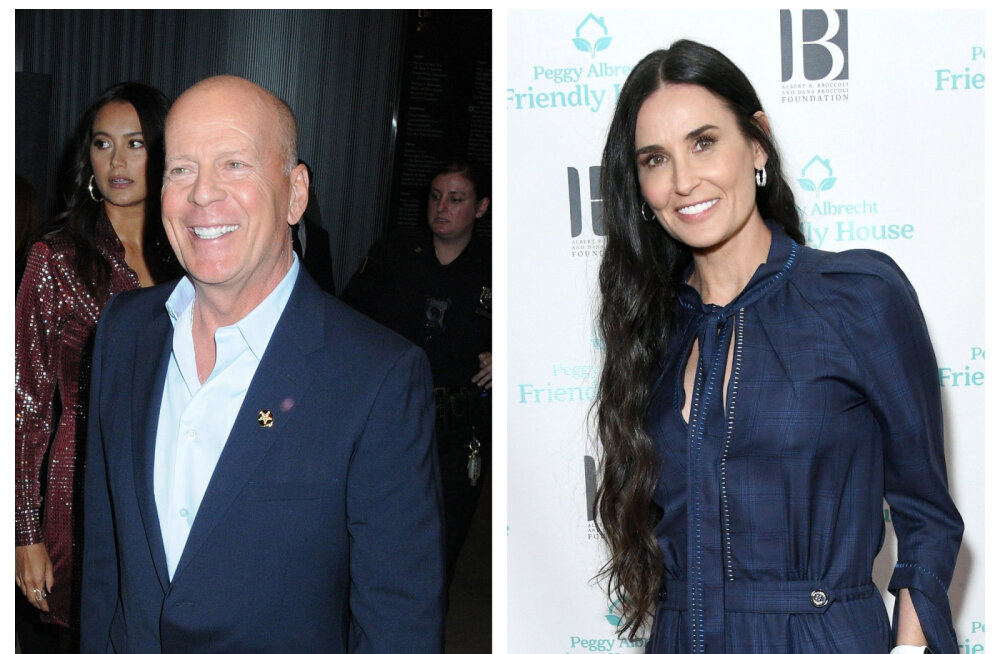 KLÕPS | Demi Moore meenutab sotsiaalmeedias enda ja Bruce Willise pulmapäeva: meil oli nii vedanud