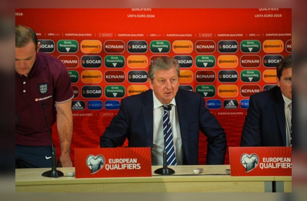Inglismaa jalgpallikoondise peatreener Roy Hodgson