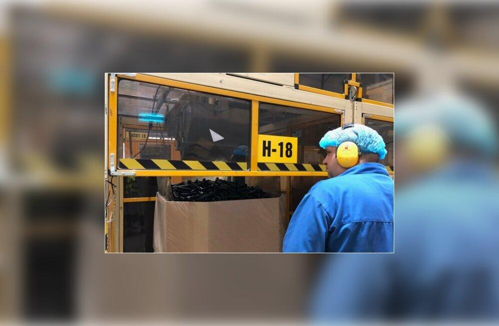 Необычный завод: зарплата в среднем 2500 евро, но работников не хватает