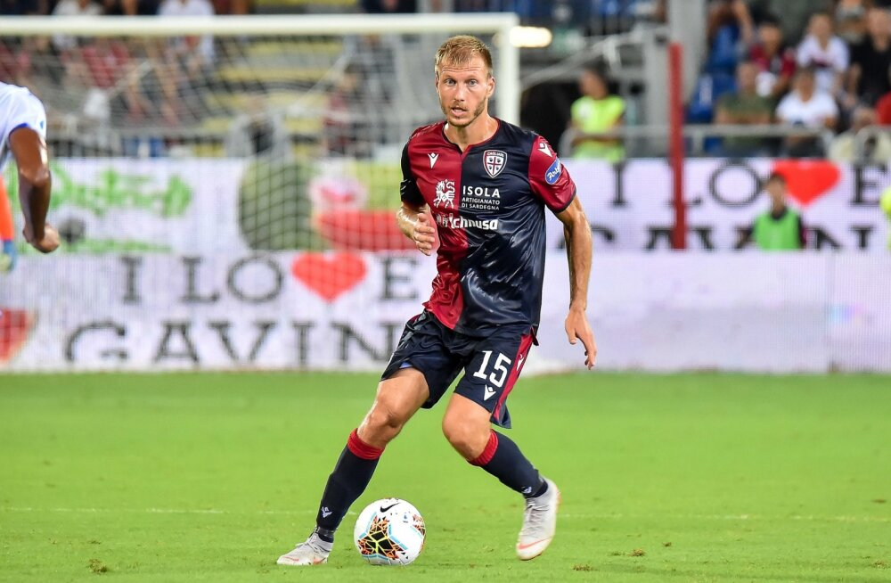 Ragnar Klavan Cagliari Calcio ridades.