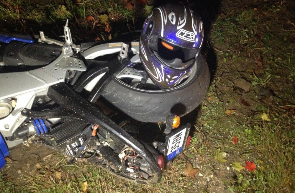 Järvamaa mootorrattaõnnetus