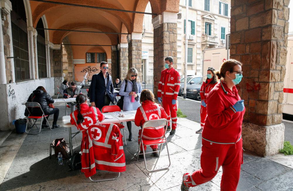 Agressiivne testimine aitas Itaalia linnal uute nakatunute arvu nullini viia