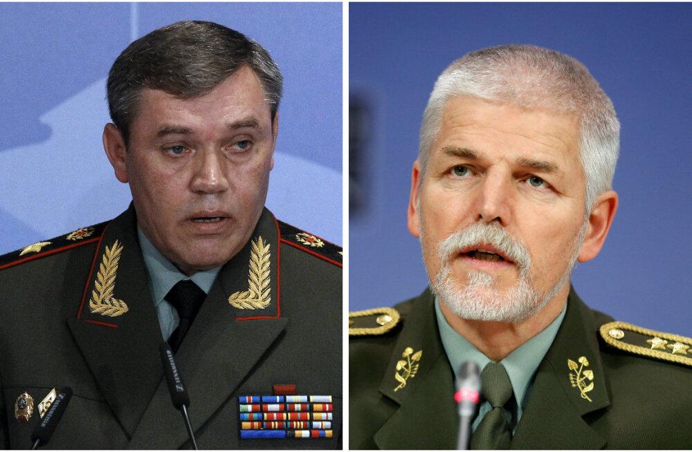 Vene kindralstaabi ülem ja NATO sõjalise komitee esimees vestlesid esimest korda üle kolme aasta
