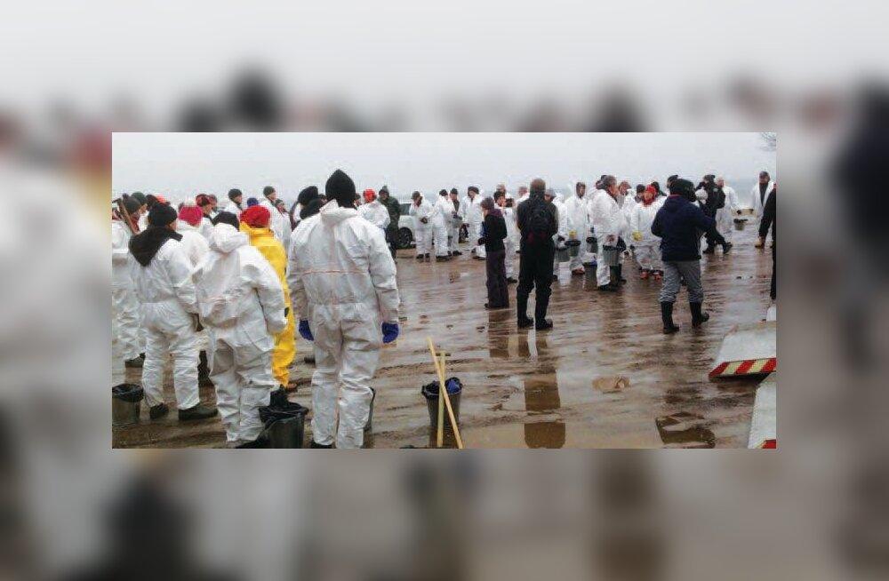 Reostust käis koristamas üle 160 inimese