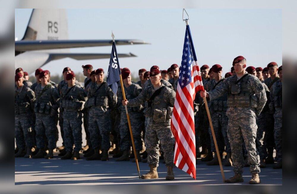 Eestisse saabuv 173. brigaadi kompanii on esimene suurem Vietnamis teeninud Ühendriikide armee üksus