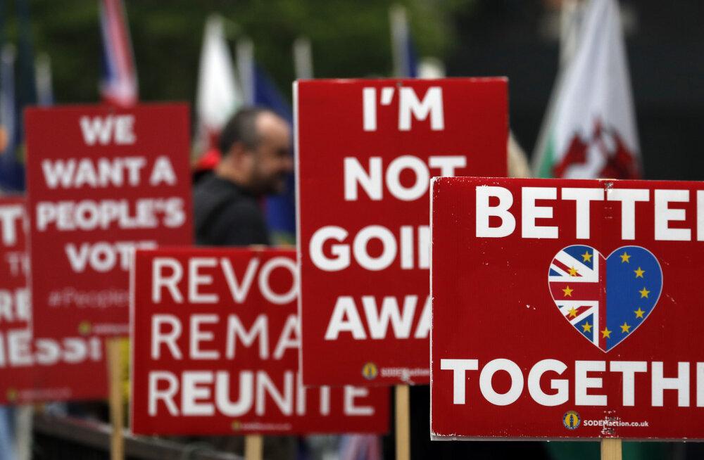 Briti valitsus määras Euroopa Parlamendi valimiste kuupäevaks 23. mai