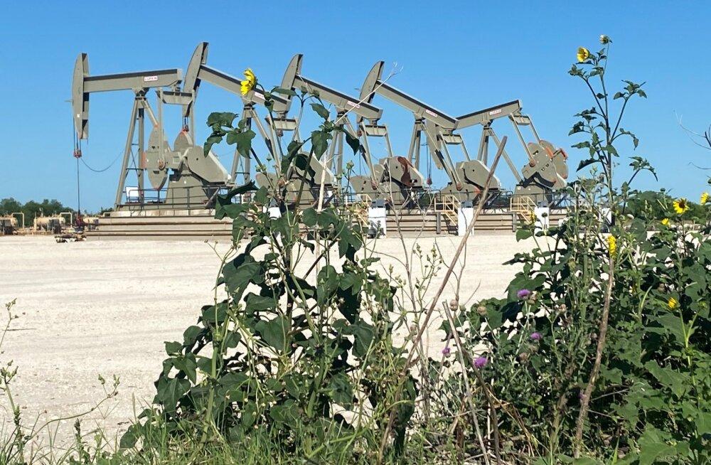Ameerika naftatootmine. Foto on illustratiivne.