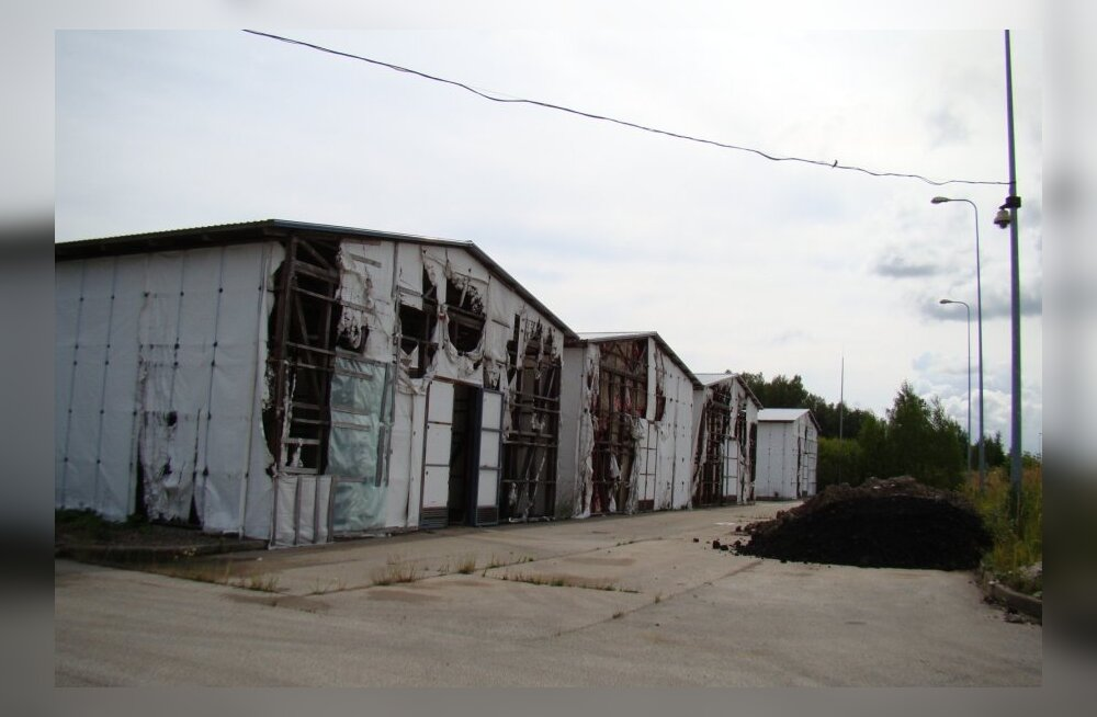 Vaivara ohtlike jäätmete prügila, Auvere küla