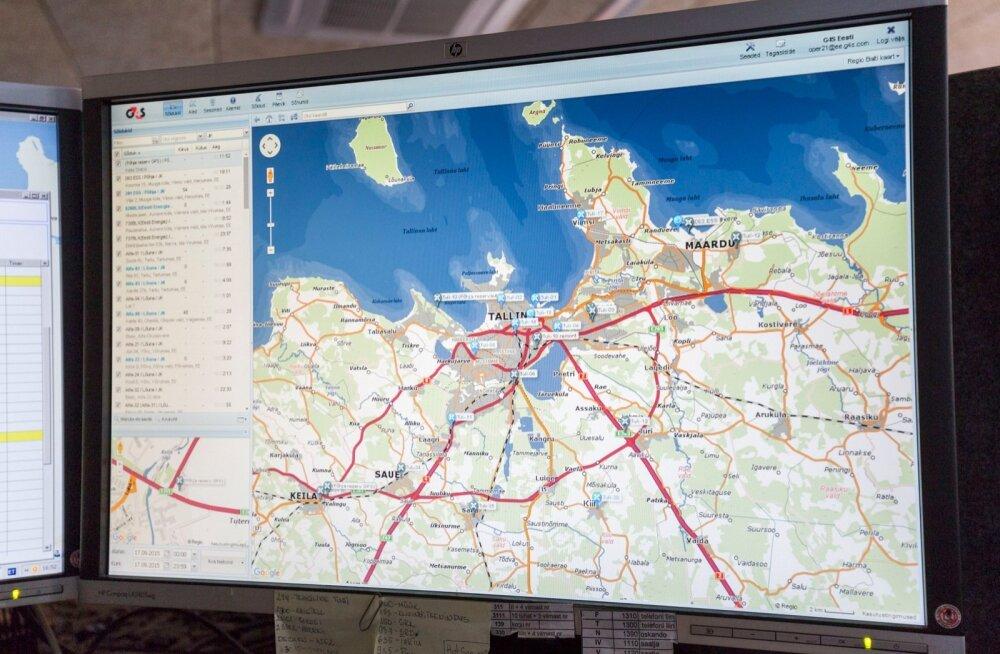 G4S, auto GPS seade