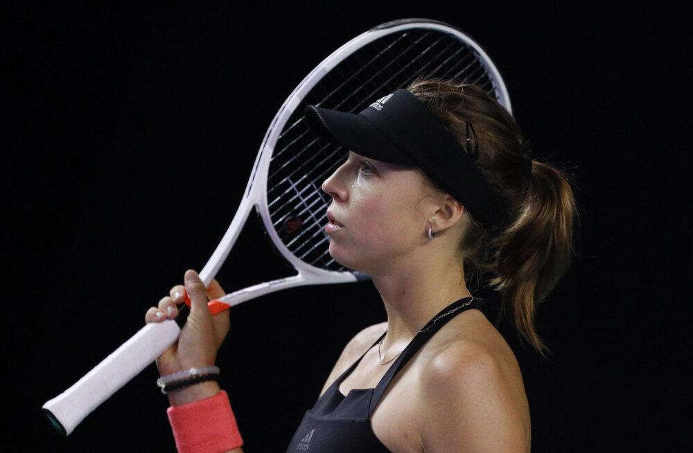 WTA eliitturniiri kindla kaotusega alustanud Kontaveit: minu poolt väga kesine esitus
