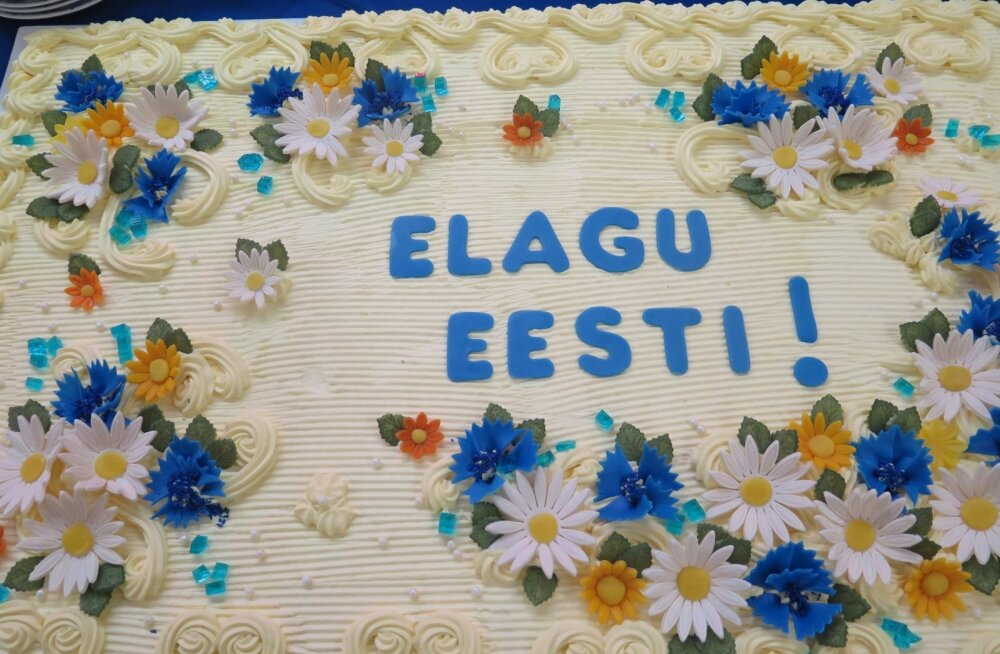 Rahvas tähistas Eesti sünnipäeva Päinurme küla renoveeritud rahvamajas