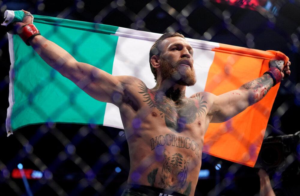 Conor McGregor pöördus Iiri valitsuse poole: tunnen ära, kui korralik lahing on ees ja nüüd on see hetk käes