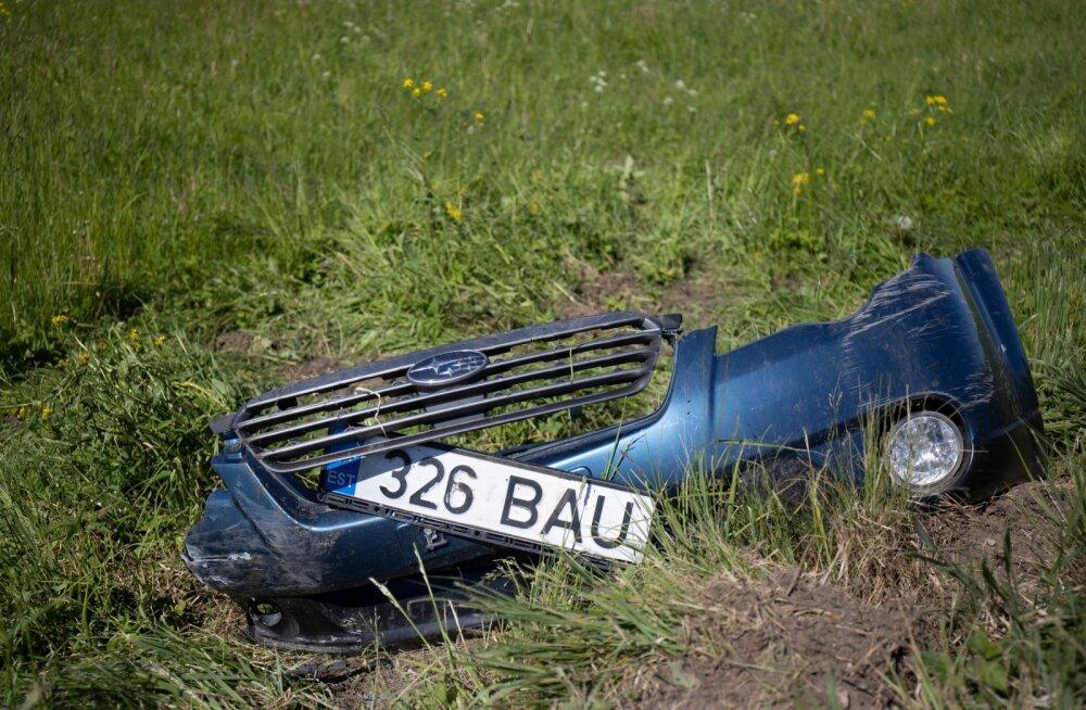Tulistaja liikles Subaruga