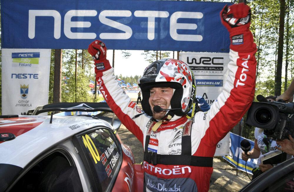 Mads Östberg saavutas tänavusel Soome rallil teise koha
