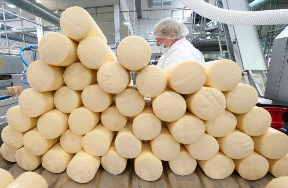 Eestis toodetud piimatoodetest ja piimast eksporditakse umbes pool.