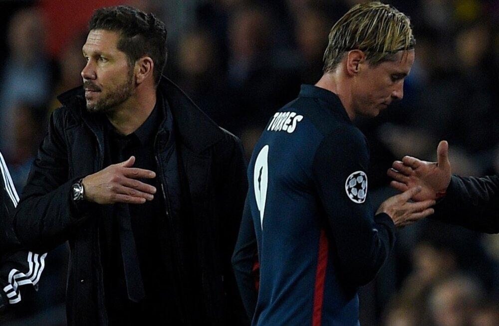 Diego Simeone, Fernando Torres