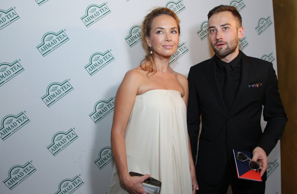 Žanna Friske ja elukaaslane Dmitri Šepelev