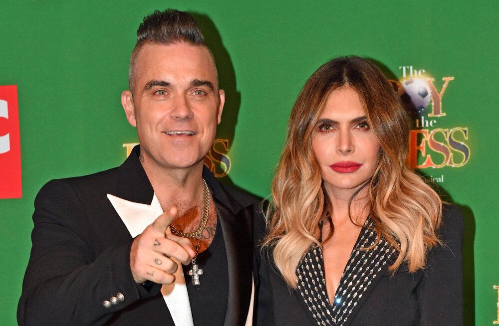Robbie Williams kohtus tulevase abikaasaga esimest korda paar tundi pärast seda, kui oli oma narkodiileriga maganud