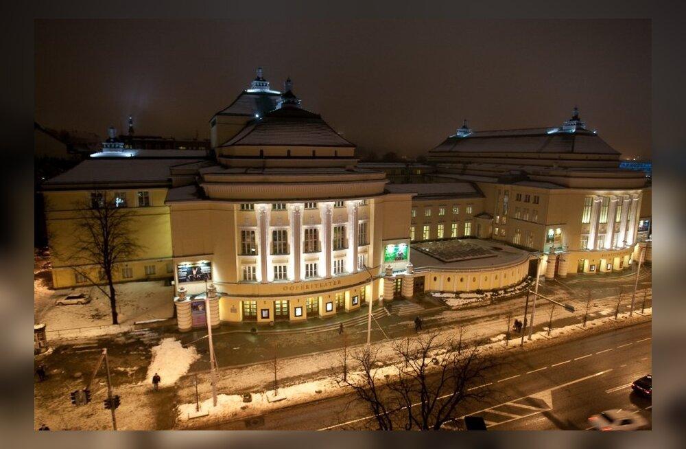 Hilisõhtune vaade Estoniale