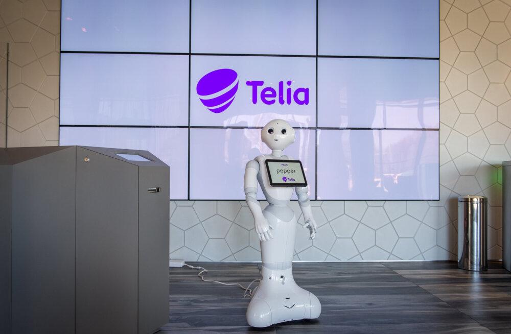 Telia peakontoris töötab Baltimaades ainulaadne humanoidrobot Pepper