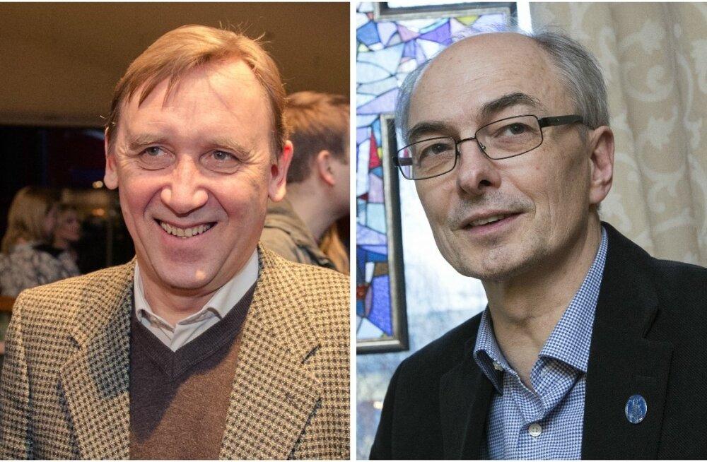 Elmo Nüganen ja Jaan Tammsalu