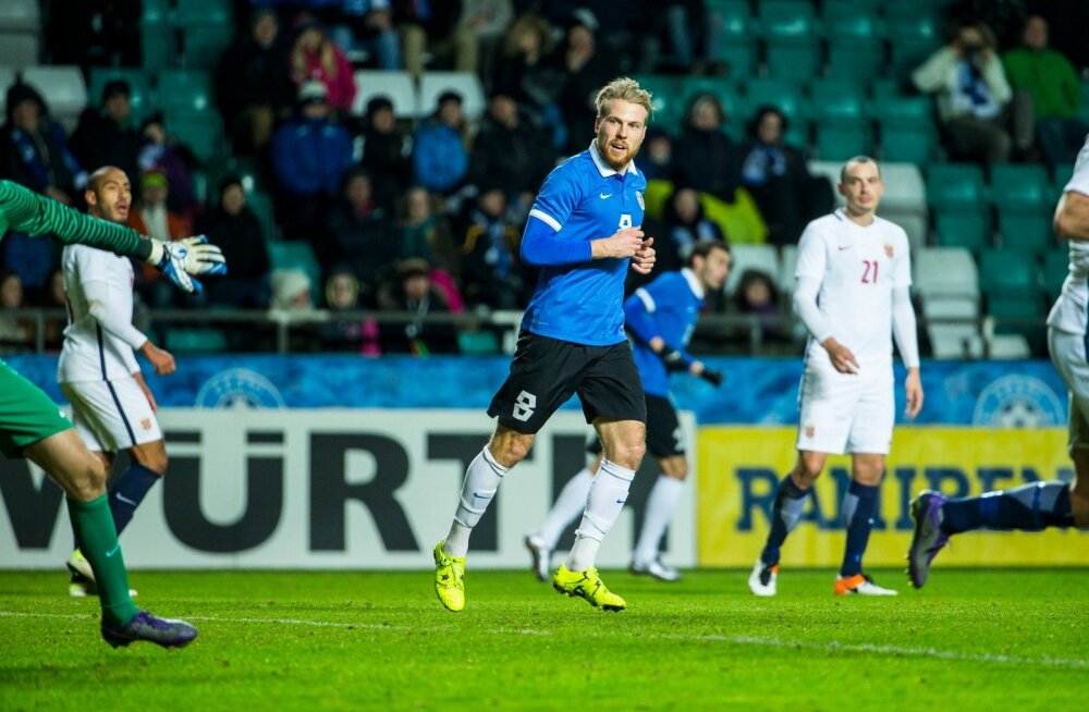 Henri Anier Eesti vs Norra mängus